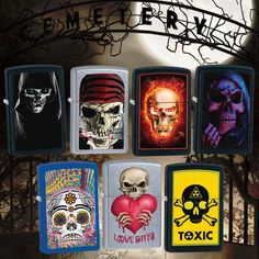 Check out our new skull designs, any of these tickle your bones?