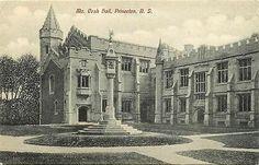 Princeton New Jersey NJ 1908 Mc Cosh Hall Collectible Antique Vintage Postcard