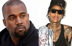 """Kanye West went weird, over the edge weird, today in a barrage of vile tweets aimed at Wiz, who was a friend. West thought Wiz was saying something about his wife Kim Kardashian when he posted """"kk,"""" but Wiz was referring to weed."""