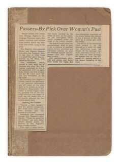 """Passers-by Pick Over Woman's Past"""