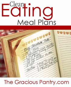 Clean Eating Meal Plans