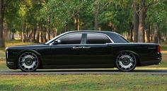 Retro futuristic Lincoln Continental