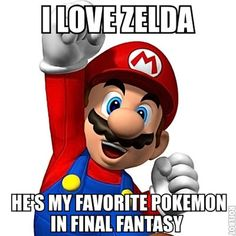 "People calling Red Luigi ""Zelda"": 