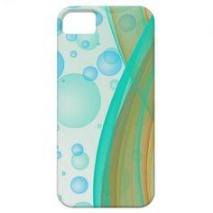 Waves & Bubbles iPhone 5 Case