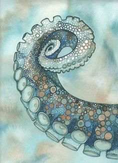 Octopus Tentacle Arm Print By Tamara Phillips