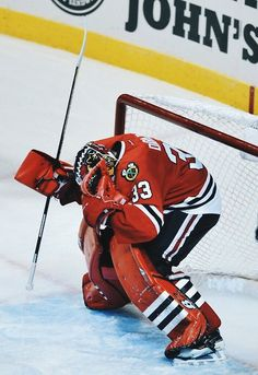 Scott Darling ... #Chicago #blackhawks
