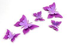 Purple butterfly Wall Art Purple butterflies by MyDreamDecors