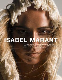 Isabel Marant SS15 Model: Natasha Poly   Photographers: Inez & Vinoodh