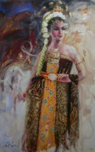 sakral-140x90-acrillic-on-canvas-2013 | toink art gallery | indonesia