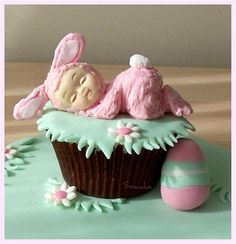 Easter Baby Cupcake ~ the cutest!