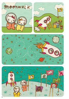 02725cfbb64f Susie Ghahremani does Hello Kitty.