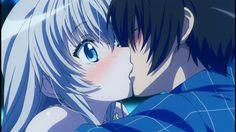 Haiyore! Nyaruko-san F a kiss finaly! <3