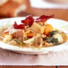 Supa de cartofi cu bacon