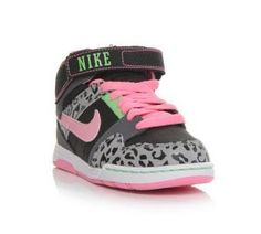 NIKE Girls Mogan Mid 2 Jr Animal at Shoe Carnival baby K has to have these! a827ab596