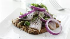 Danish smørrebrød