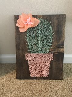 Latest Trend in Paper Embroidery - Craft & Patterns Cute Crafts, Crafts To Do, Arts And Crafts, Diy Crafts, String Art Tutorials, String Art Patterns, Nail String Art, String Crafts, Arte Linear