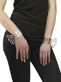 LARGE RUFFLE STRIPE BRACELETS | Arme de L'amour | Female Lover Collection #ARMEDELAMOUR #ARMEYourself