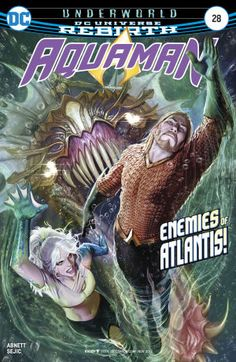 Aquaman Series) comic books January 2017 to December 2017 Comic Book Covers, Comic Books, Dc Comics, Dc Rebirth, Dangerous Games, Comic Page, Dark Night, Manga, Renaissance