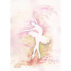 Sale - Buy 2 Get 1 FREE Art Watercolor Print my Original Painting 8x11... ($19) ❤ liked on Polyvore