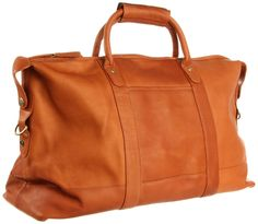 85f22051c Latico Men's Carriage Duffel Bag, Natural Duffel Bag, Weekender, Bago,  Leather Craft
