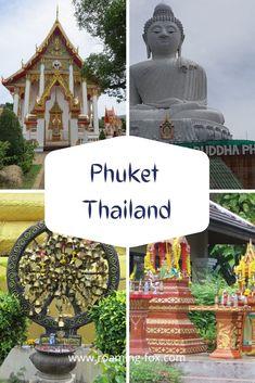 Phuket Thailand Is Phuket worth a visit during monsoon season? Thailand Travel Tips, Phuket Thailand, Asia Travel, Ping Pong Show, Phuket Airport, Khao Lak Beach, Lamai Beach, Koh Chang, Buddhist Temple