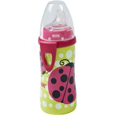 NUK - Silicone Spout 10-oz Active Cup, Ladybug - for the girl