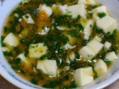 離乳食中期☆小松菜と人参の豆腐あんかけの画像