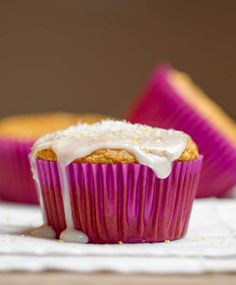 "Lemon Coconut Vegan Cupcakes  ---""I'd love to bake this cupcake"""