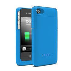 BATERIA FUNDA PARA IPHONE4/4S AZUL  21,63 €    Batería funda para iPhone 4/4S. Recarga tu batería en esos momentos en que no tienes acceso a la red eléctrica. Se acopla perfectamente al tamaño de tu iphone4 y además te servirá de funda para evitar que tu iphone se raye o lastime. Características Capacidad: 1900 mAh/2000mAh. Entrada: 5V --- 500mA. Salida: 5V --- 700MA. Tamaño: 125 * 62 * 18cm. Color: Blanco. Tipo de batería: Li-ion de alta calidad. Contenido Batería funda para iPhone 4 y 4S