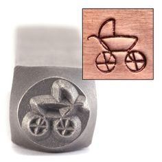 Stroller, $9.75 @ Beaducation.  6mm x 6mm
