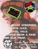 SECRET 16MM HORROR FILM (hint: Girls, Guts and Gills)