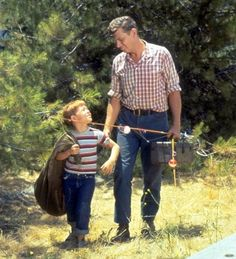 The Andy Griffith Show - Andy and Opie Taylor