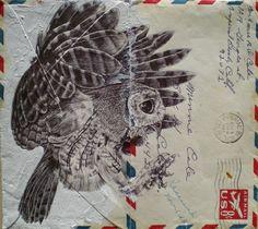 theforbiddencolors:    pensandenvelopes  by Mark Powell