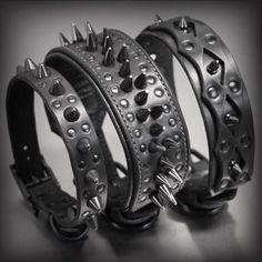 ✖️ALL BLACK EVERTHING✖️ #menacecollar #bruisercollar #widowcollar #crazyrebels available at |@CrazyRebels .com |