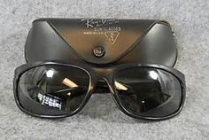 Vintage B&L Ray Ban Balorama Black Sunglasses USA Late 1960's with Case - $50.50 - http://www.12pmsunglasses.com/on-sale/VINTAGE-RAY-BAN-BALORAMA.html