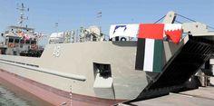 #اليمن   الجيش الاماراتي يعلن تعرض احدى سفنه لحادث في باب المندب ويجري التحقيق