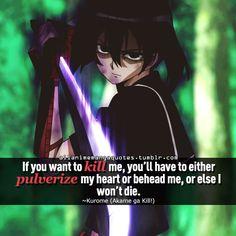 Kurome - Akame ga Kill!