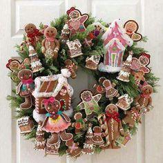 Weihnacht; Advent; Kranz; Lebkuchen