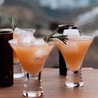 Rosemary Ruby Cocktails - vodka, rosemary, grapefruit juice