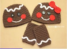 Crochet Free Gingerbread Man Hat Pattern | Scribd