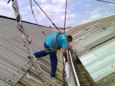 Reparación de todo tipo de cubiertas canales cerramientos eliminación de goteras Servicios 24 horas murcia  WWW.MONTAJESDODERO.COM