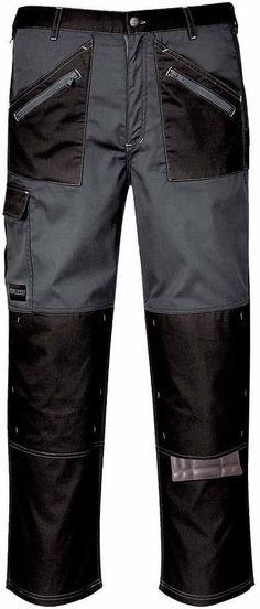 Arbeitshose  Bekleidung, Arbeitskleidung & Uniformen, Handwerk & Industrie, Arbeitshosen Bermuda Shorts, Black Jeans, Pants, Men, Fashion, Workwear, Clothing, Gray, Black