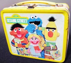 Sesame Street (pre Elmo) - my first show and this was my first lunch box!!! Loved it!!!
