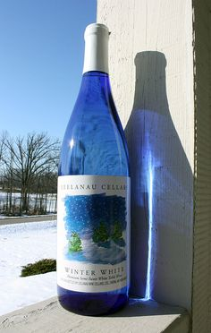 Winter White ~ Leelanau Cellars Michigan  Love this wine...and the winery!
