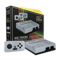 Hyperkin RetroN 1 Gaming Console for NES Silver