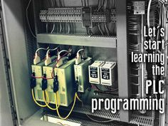 Let's start learning the PLC programming