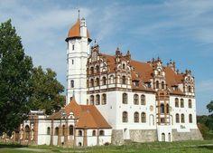 Schloß Basedow in Mecklenburg