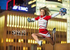 Cheerleading Senior Picture Ideas