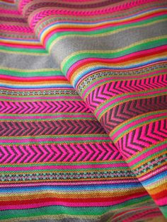 One yard of South American Andean #fabric. Perfect for creating home decor, clothing, accessories, and more.