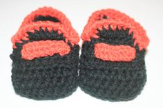 Crochet Baby Booties Moccassin Style by BlissfulFiber on Etsy, $8.00
